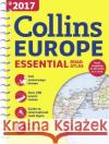2017 Collins Essential Road Atlas Europe  Collins Maps 9780008203580