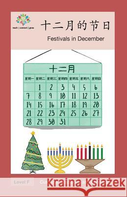 十二月的节日: Festivals in December Washington Yu Ying Pcs 9781640400115 Level Chinese - książka