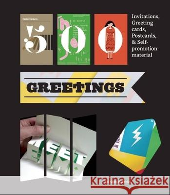 500 Greetings: Invitations, Postcards, Self-Promotional Material and Other Rsvp Ideas Marta Serrats 9788415967712 Promopress - książka