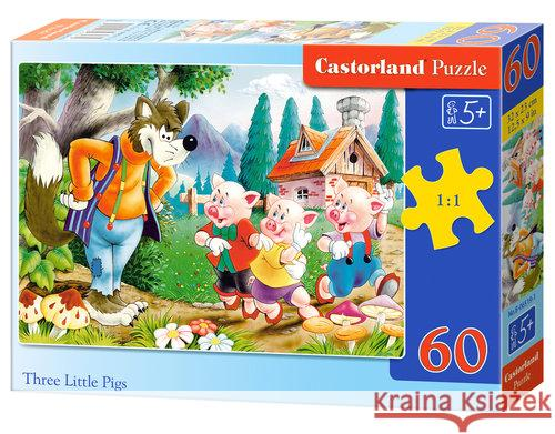 Puzzle Three Little Pigs 60  5904438006519