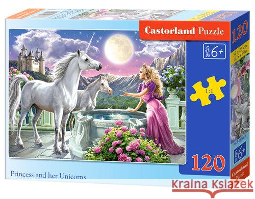 Puzzle Princess and her Unicorns 120  5904438013098