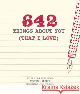 642 Things about You (That I Love) Chronicle Books 9781452158396 Chronicle Books - książka
