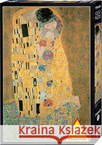 The Kiss, 1000 Piece Puzzle Gustav Klimt 9001890545962