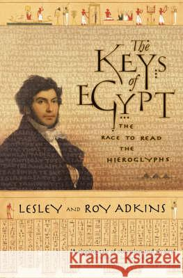 Keys of Egypt Lesley Adkins 9780006531456 HARPER COLLINS PAPERBACKS