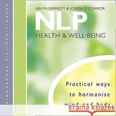 NLP Ian Mcdermott Joseph O'connor 9780007345960