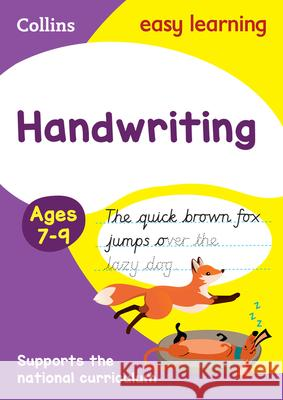 Handwriting: Ages 7-9   9780008151423