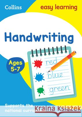 Handwriting: Ages 5-7   9780008151454
