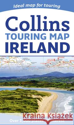 Collins Touring Map Ireland Collins Maps 9780008183738