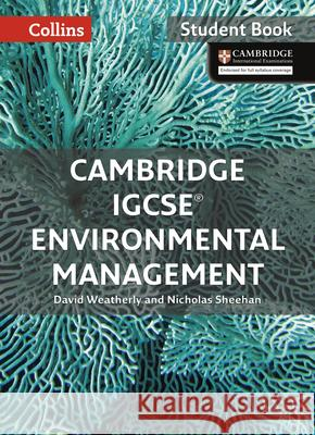 Cambridge Igcse(r) Environmental Management: Student Book Collins UK 9780008190453