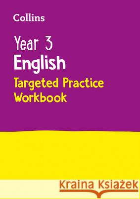 Year 3 English Targeted Practice Workbook Collins UK 9780008201654