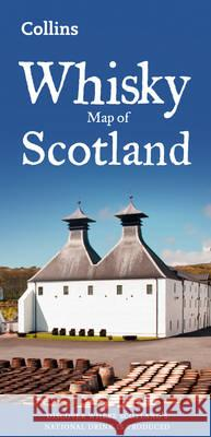 Whisky Map of Scotland  Collins Maps 9780008225070