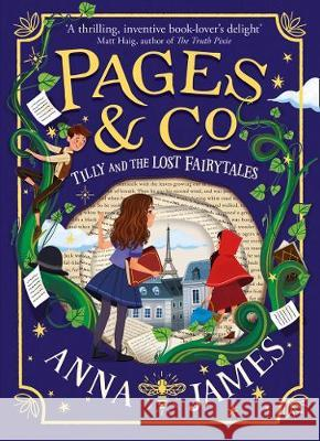 Pages & Co.: Tilly and the Lost Fairy Tales (Pages & Co., Book 2) Anna James   9780008229900 HarperCollins