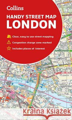 Collins Handy Street Map London Collins Maps 9780008320584