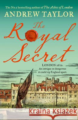 The Royal Secret Andrew Taylor 9780008325565
