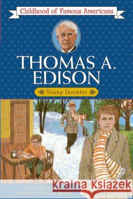 Thomas Edison: Young Inventor Sue Guthridge Wallace Wook 9780020418504 Aladdin Paperbacks