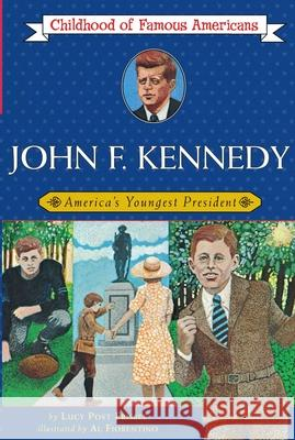 John F. Kennedy: America's Youngest President Lucy Post Frisbee Al Fiorentino 9780020419907 Aladdin Paperbacks