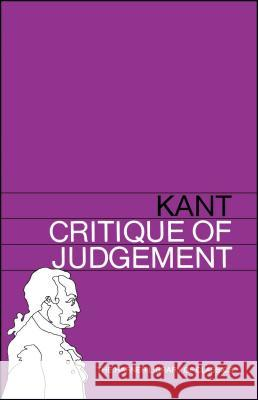 Critique of Judgement Immanuel Kant J. H. Bernard 9780028475004