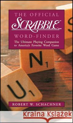 The Official Scrabble Brand Word-Finder Robert W. Schachner Robert W. Schachner Robert W. Schachner 9780028621326