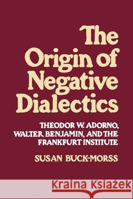 Origin of Negative Dialectics Susan Buck-Morss 9780029051504