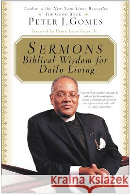 Sermons Peter J. Gomes Henry Louis, Jr. Gates 9780060088316 HarperOne