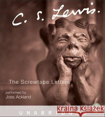 The Screwtape Letters CD - audiobook C. S. Lewis Joss Ackland 9780060093662