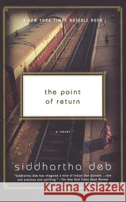 The Point of Return Siddhartha Deb 9780060501532