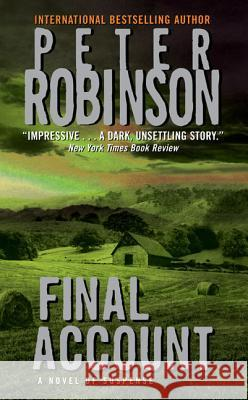 Final Account Peter Robinson 9780060502164 Avon Books