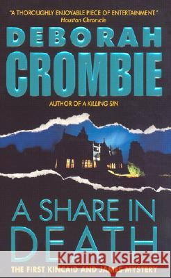 A Share in Death Deborah Crombie 9780060534387