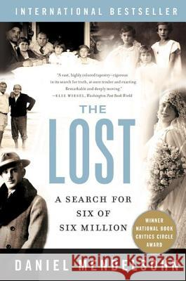 The Lost Daniel Mendelsohn Matt Mendelsohn 9780060542993