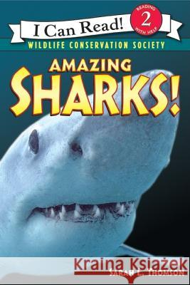 Amazing Sharks! Sarah L. Thomson Wildlife Conservation Society 9780060544560