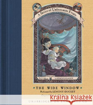 The Wide Window - audiobook Lemony Snicket Lemony Snicket Gothic Archies 9780060566159 Harper Children's Audio