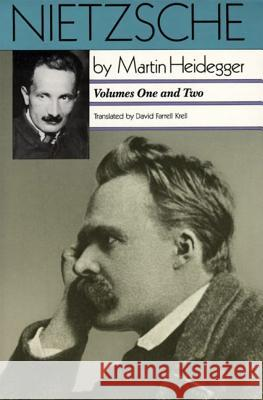 Nietzsche: Volumes One and Two: Volumes One and Two Martin Heidegger David Farrell Krell 9780060638412