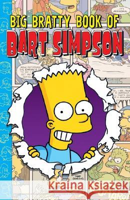 Big Bratty Book of Bart Simpson Matt Groening 9780060721787
