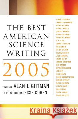 The Best American Science Writing 2005 Alan Lightman Jesse Cohen 9780060726423
