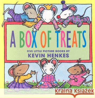 A Box of Treats: Five Little Picture Books about Lilly and Her Friends Kevin Henkes Kevin Henkes 9780060732110 HarperFestival