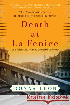 Death at La Fenice Donna Leon 9780060740689