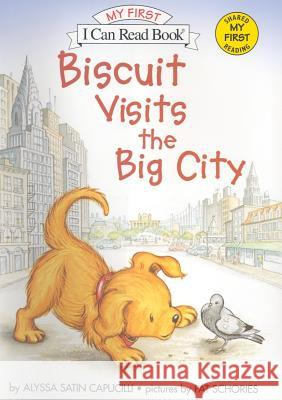 Biscuit Visits the Big City Alyssa Satin Capucilli Pat Schories 9780060741648