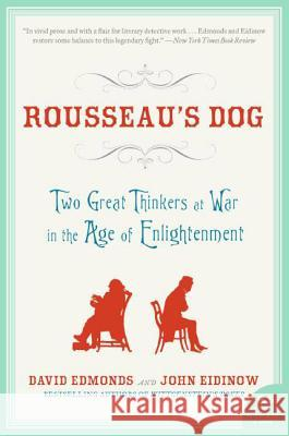 Rousseau's Dog David Edmonds John Eidinow 9780060744915