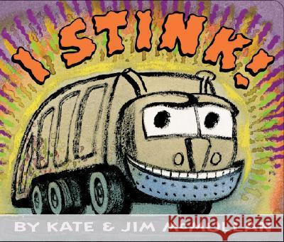 I Stink! Board Book Kate McMullan Jim McMullan 9780060745929