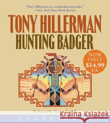 Hunting Badger Low Price CD - audiobook Tony Hillerman George Guidall 9780060746827