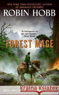 Forest Mage Robin Hobb 9780060758295