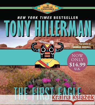 First Eagle CD Low Price - audiobook Tony Hillerman George Guidall 9780060763640