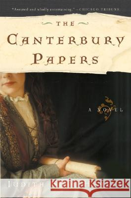 The Canterbury Papers Judith Healey 9780060773328
