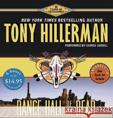Dance Hall of the Dead CD Low Price - audiobook Tony Hillerman George Guidall 9780060815110 HarperAudio