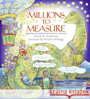 Millions to Measure David M. Schwartz Steven Kellogg 9780060848064