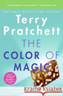 The Color of Magic Terry Pratchett 9780060855925
