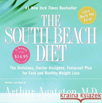 South Beach Diet CD Low Price - audiobook Arthur Agatston Arthur Agatston 9780060877262