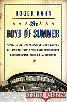 The Boys of Summer Roger Kahn 9780060883966