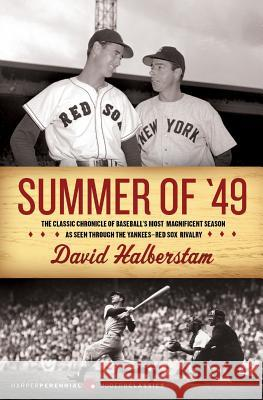 Summer of '49 David Halberstam 9780060884260