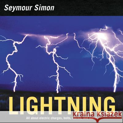 Lightning Seymour Simon 9780060884352